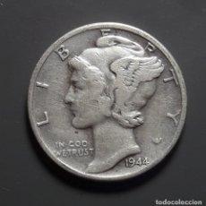 Monedas antiguas de América: PLATA: ESTADOS UNIDOS 1 DIME 1944. Lote 183607947