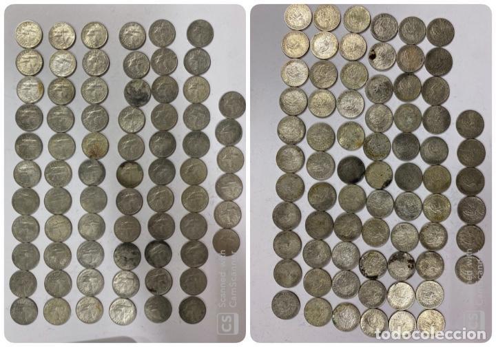 CUBA. LOTE DE 72 MONEDAS DE PLATA DE 20 CENTAVOS. AÑO 1952. VER FOTOS (Numismática - Extranjeras - América)