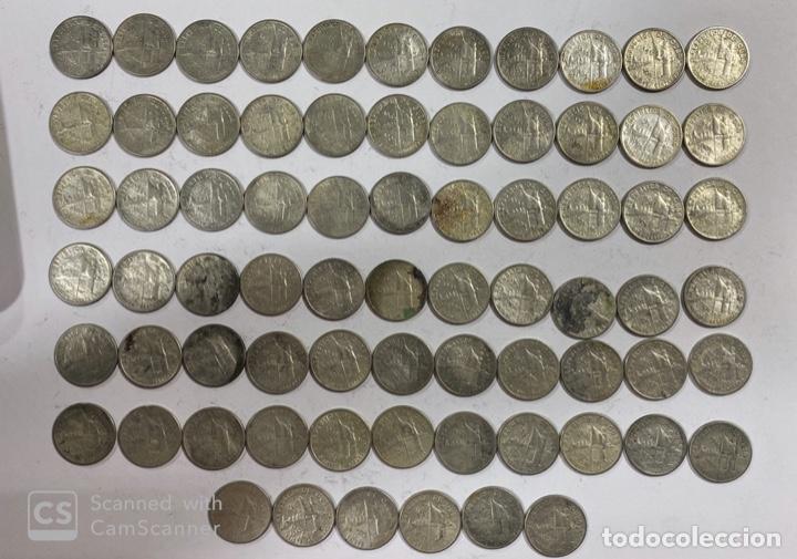 Monedas antiguas de América: CUBA. LOTE DE 72 MONEDAS DE PLATA DE 20 CENTAVOS. AÑO 1952. VER FOTOS - Foto 2 - 183655343