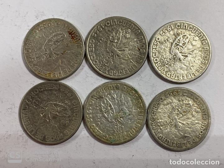 Monedas antiguas de América: CUBA. LOTE DE 72 MONEDAS DE PLATA DE 20 CENTAVOS. AÑO 1952. VER FOTOS - Foto 20 - 183655343