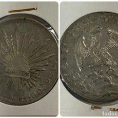 Monedas antiguas de América: MEXICO. REPUBLICA MEXICANA. 8 REALES. PLATA. AÑO 1890. VER FOTOS. Lote 183674197