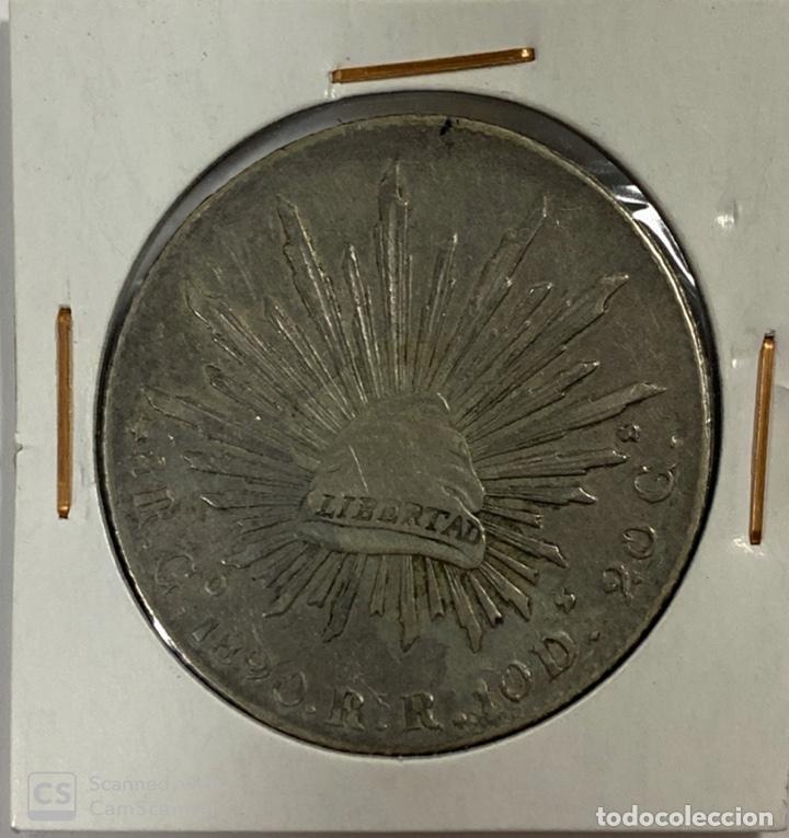 Monedas antiguas de América: MEXICO. REPUBLICA MEXICANA. 8 REALES. PLATA. AÑO 1890. VER FOTOS - Foto 2 - 183674197