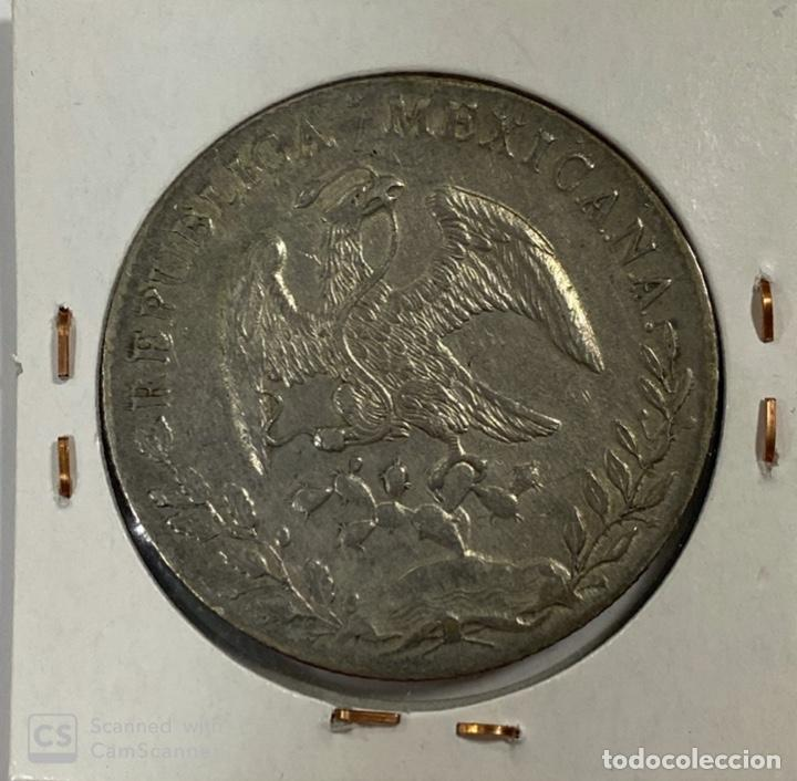 Monedas antiguas de América: MEXICO. REPUBLICA MEXICANA. 8 REALES. PLATA. AÑO 1890. VER FOTOS - Foto 3 - 183674197