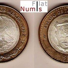 Monedas antiguas de América: MEJICO - 100 PESOS - 2004 - TAMAULIPAS - NO CIRCULADA. Lote 183699320
