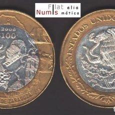 Monedas antiguas de América: MEJICO - 100 PESOS - 2006 - COAHUILA DE ZARAGOZA - NO CIRCULADA. Lote 183699671