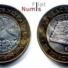 Monedas antiguas de América: MEJICO - 100 PESOS - 2007 - VERACRUZ - NO CIRCULADA. Lote 183700810