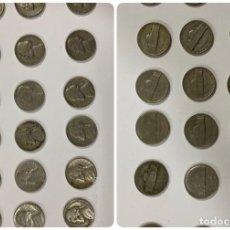 Monedas antiguas de América: ESTADOS UNIDOS. LOTE DE 18 MONEDAS DE 5 CENTIMOS. VARIAS FECHAS. VER FOTOS. . Lote 183775945