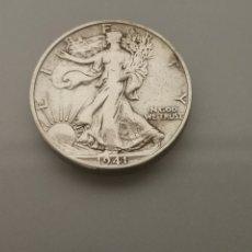 Monedas antiguas de América: MONEDA 1/2 HALF DÓLAR 1941 PLATA WALKING LIBERTY. Lote 183879383