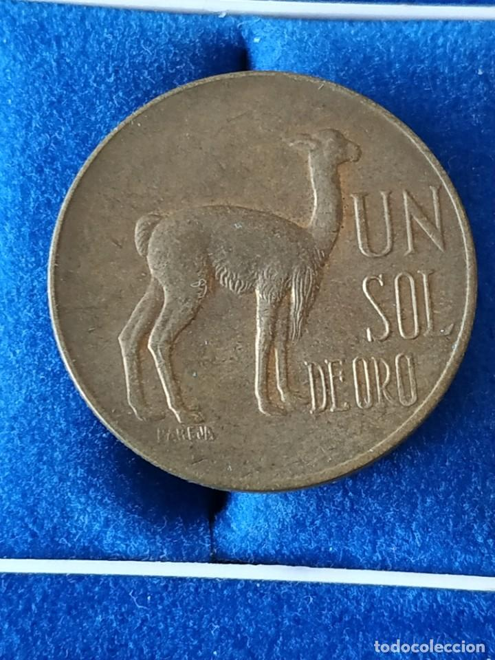 PERU - 1 SOL DE ORO DE 1973 (Numismática - Extranjeras - América)