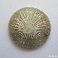 Monedas antiguas de América: MEXICO * 8 REALES 1895 GUADALAJARA JS * PLATA. Lote 184377880