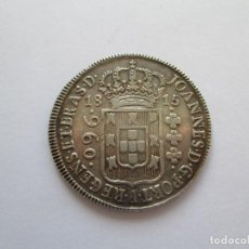 Monedas antiguas de América: BRASIL * 960 REIS 1815 * PLATA. Lote 184378357