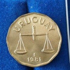 Monnaies anciennes d'Amérique: URUGUAY - 50 CENTESIMOS DE 1981. Lote 201293850