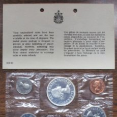 Monedas antiguas de América: CANADA, 1962. PROOF-LIKE SET, CON 4 MONEDAS DE PLATA SIN CIRCULAR FDC. LOTE 2170. Lote 184762423