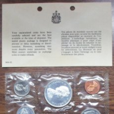 Monedas antiguas de América: CANADA, 1966. PROOF-LIKE SET, CON 4 MONEDAS DE PLATA SIN CIRCULAR FDC. LOTE 2171. Lote 184763295
