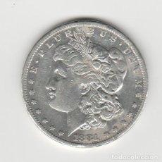 Monedas antiguas de América: ESTADOS UNIDOS- 1 DOLAR- 1881- MORGAN. Lote 184887758