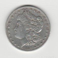 Monedas antiguas de América: ESTADOS UNIDOS- 1 DOLAR- 1887- MORGAN. Lote 184888031
