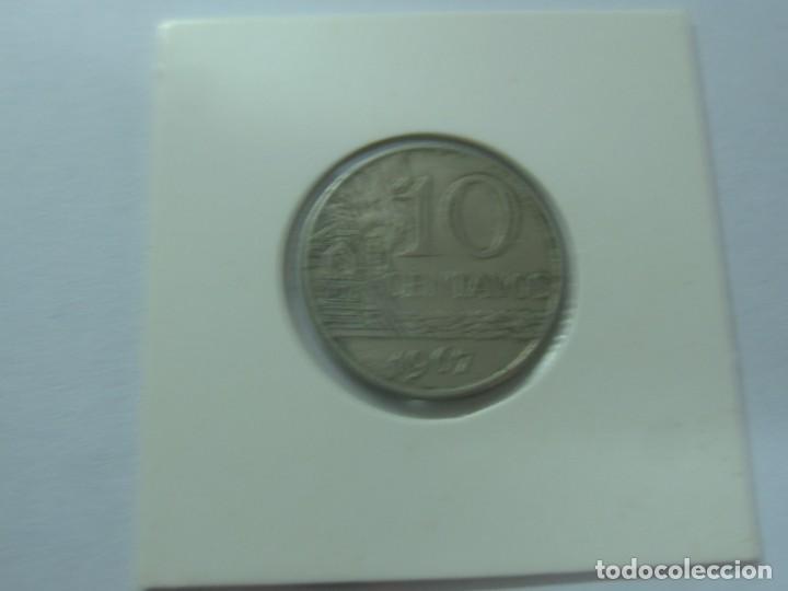Monedas antiguas de América: MONEDA 10 CENTAVOS BRASIL AÑO 1967 - Foto 2 - 185895032