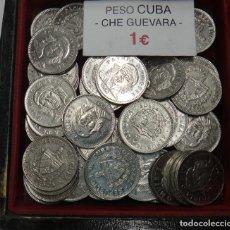 Monedas antiguas de América: MONEDA DE 3 PESOS DE CUBA CHE GUEVARA ORIGINAL A 1 EURO. Lote 185983547