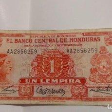 Monedas antiguas de América: 1LEMPIRA1965 HONDURAS. Lote 186019545