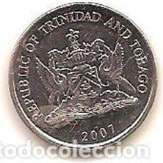 Monedas antiguas de América: TRINIDAD Y TOBAGO,25 CENTS 2007.. Lote 186024216