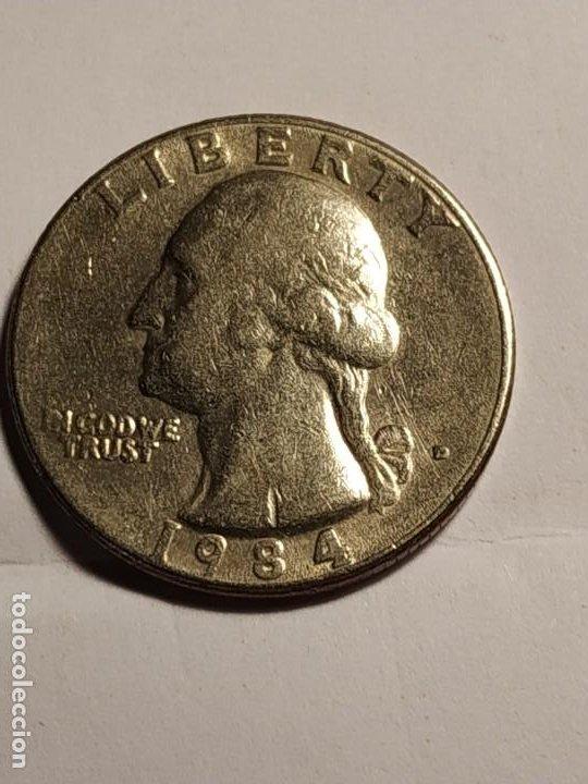USA - 1/4 DE DOLLAR DE 1984 (Numismática - Extranjeras - América)