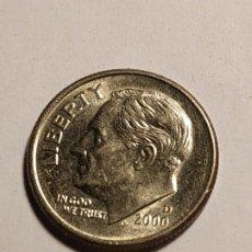Monedas antiguas de América: USA - ONE DIME 2000. Lote 186173263