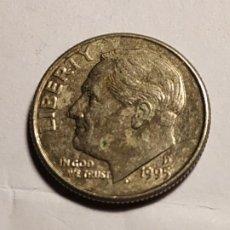 Monedas antiguas de América: USA - ONE DIME 1995. Lote 186175255