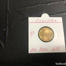 Monnaies anciennes d'Amérique: COLOMBIA 100 PESOS 2016 S/C (FRAILEJON). Lote 186213638