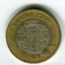 Monedas antiguas de América: MEXICO 10 PESOS AÑO 2015. Lote 186365057