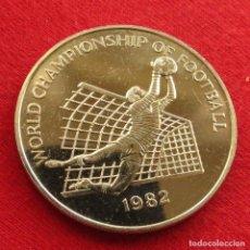 Monedas antiguas de América: JAMAICA 1 $ 1982 FÚTBOL ESPANA. Lote 187440560