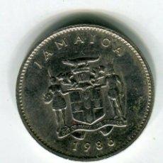 Monedas antiguas de América: JAMAICA 19 CENTAVOS AÑO 1986. Lote 187467965