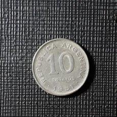 Monedas antiguas de América: ARGENTINA 10 CENTAVOS 1951 KM47.. Lote 187543041