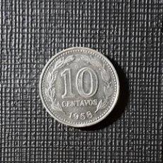 Monedas antiguas de América: ARGENTINA 10 CENTAVOS 1958 KM54.. Lote 187543147