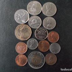 Monedas antiguas de América: CONJUNTO DE MONEDAS DE CANADA . Lote 188813601