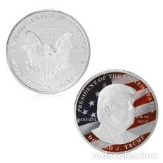 Monedas antiguas de América: MONEDA CONMEMORATIVA DONAL TRUMP. Lote 189081716