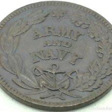 Monedas antiguas de América: RÉPLICA MONEDA 1861-1865. 1 CÉNTIMO. UNIÓN. GUERRA DE SECESIÓN. ESTADOS UNIDOS DE AMÉRICA. USA. Lote 189198176