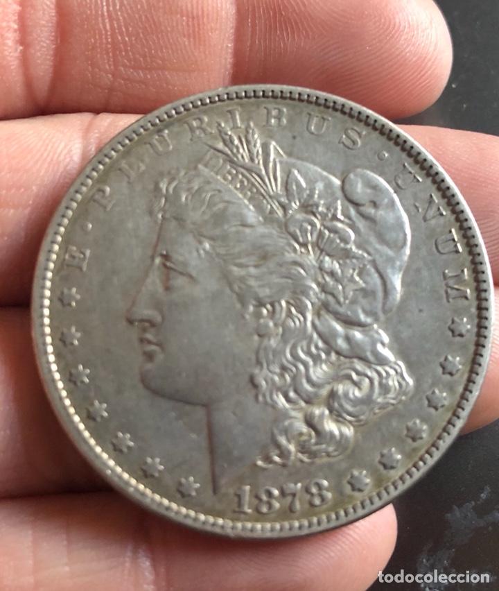 EEUU DÓLAR TIPO MORGAN 1878, SIN CECA (Numismática - Extranjeras - América)