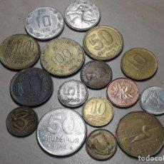 Monedas antiguas de América: MONEDAS DE AMÉRICA. LOTE DE 16 MONEDAS.. Lote 190763923