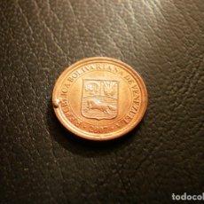 Monnaies anciennes d'Amérique: VENEZUELA 5 CENTIMOS 2007. Lote 190879318