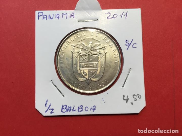 Monedas antiguas de América: X-1951 )PANAMA,,1/2 Balboa 2011,,Panama viejo,, en estado Nuevo Sin Circular - Foto 2 - 190900603