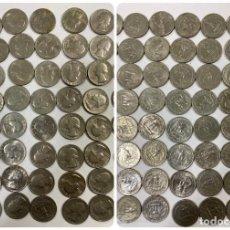 Monedas antiguas de América: LOTE 161 MONEDAS DE UN CUARTO DE DOLAR. EEUU. LA MAYORIA SIN CIRCULAR. VER FOTOS. LEER.. Lote 190904262
