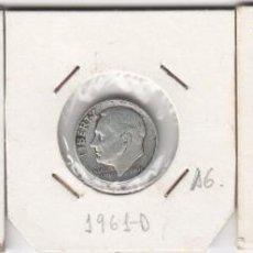 Monedas antiguas de América: LOTE DE 3 MONEDAS EE.UU LIBERTY 1948-1961D-1964 ONE DIME (PLATA). MBC+. Lote 191555696