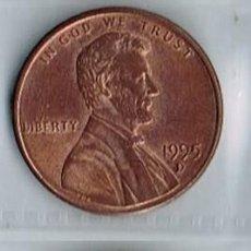 Monedas antiguas de América: ESTADOS UNIDOS, MONEDA DE 1 CÉNTIMO - 1995-D. Lote 191655495