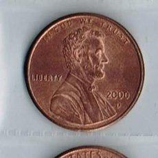 Monedas antiguas de América: ESTADOS UNIDOS, MONEDA DE 1 CÉNTIMO - 2000-D. Lote 191655571