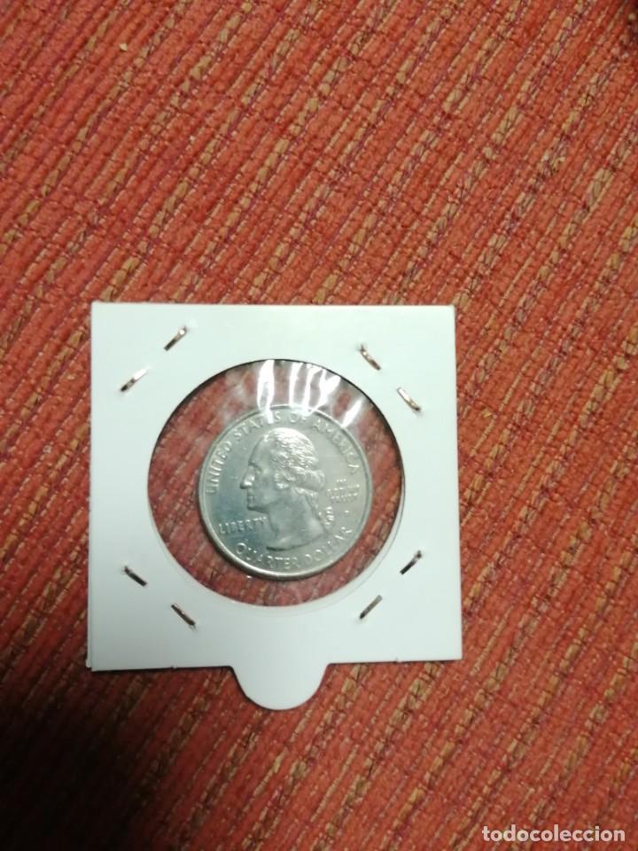 Monedas antiguas de América: Moneda 1/4 dólar usa 1999,delaware - Foto 2 - 192178816