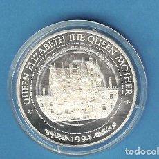 Monedas antiguas de América: PLATA-SAMOA I SISIFO. 10 TALA 1994. REINA MADRE 31,47 GRAMOS DE LEY 0,925. Lote 192598748