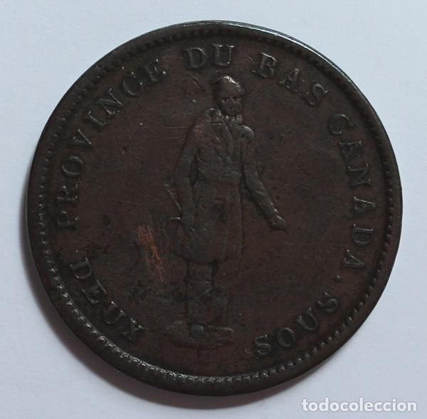 CANADA. 2 SOUS - 1 PENNY 1837 (Numismática - Extranjeras - América)