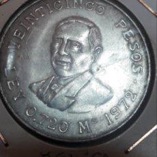 Monedas antiguas de América: MONEDA DE PLATA 25 PESOS MEXICO. Lote 192821207