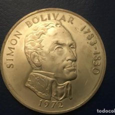 Monedas antiguas de América: GRAN MONEDA DE PLATA DE PANAMÁ - 1972 - 20 BALBOAS . Lote 192913921