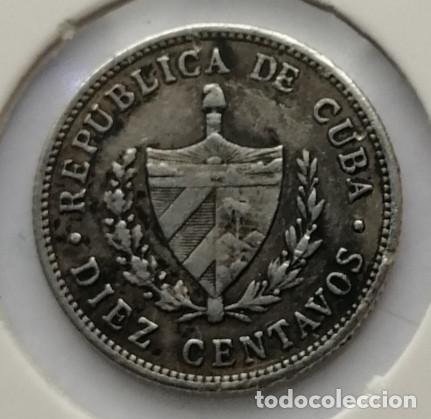 Monedas antiguas de América: MONEDA DE PLATA CUBA 1915 - Foto 2 - 192956705